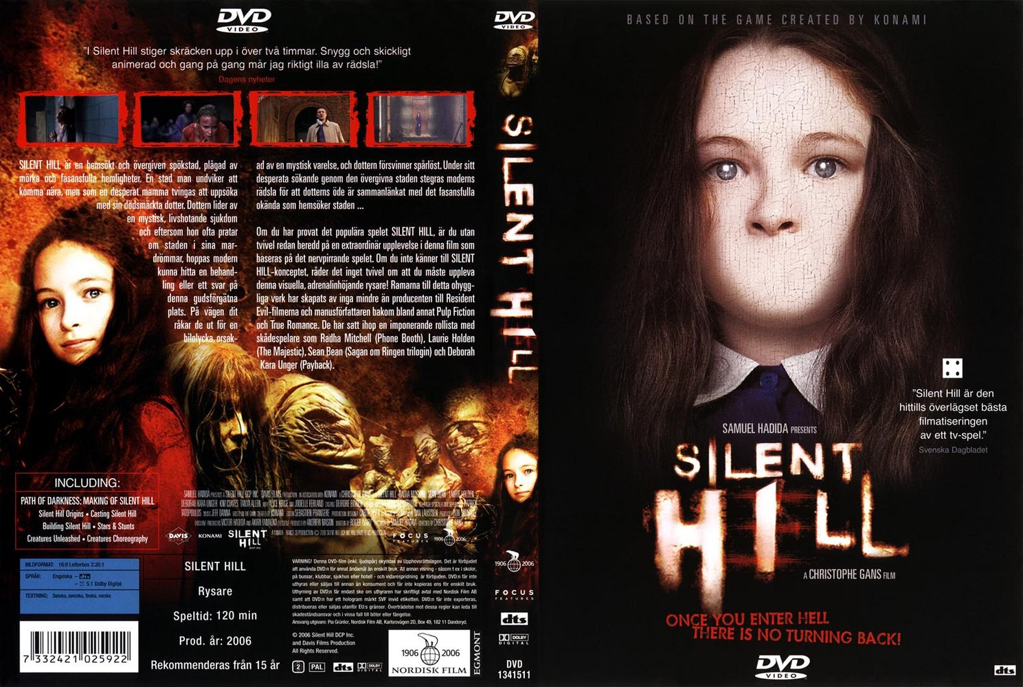 DVD Covers - Silent Hill Swedish - Beautiful Jodelle Image & Media ... Dvd